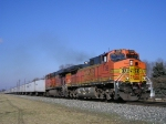 BNSF 5138 On NS 251 Eastbound