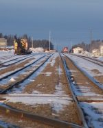 Cass Lake Yard (looking west)