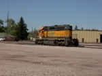 Another SD40-2 waits for its next job in Cheyenne