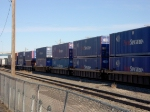 PacerStacktrain containers depating Cheyenne