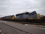 CSX locomotives at rougemere