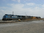 Road power at sterling yard on the conrail shared assets.