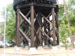 support system for old water tower