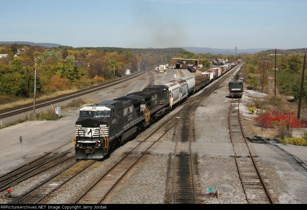 Westbound NS train at ROSE