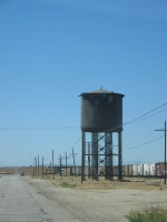 UP 555, Famoso Water Tower