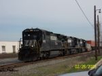 NS Train 225 about to cross 32nd st.