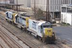 Set of CSX engines looking for it's cars.