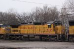 Close up of UP 9329 on NS 226