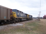 CSX 520 and 38 Getting a Green light