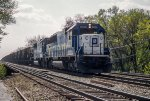 OWY 9008, 9050, EMD SD60, eastbound coal loads