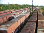 Old Conrail cars at Rose Yard