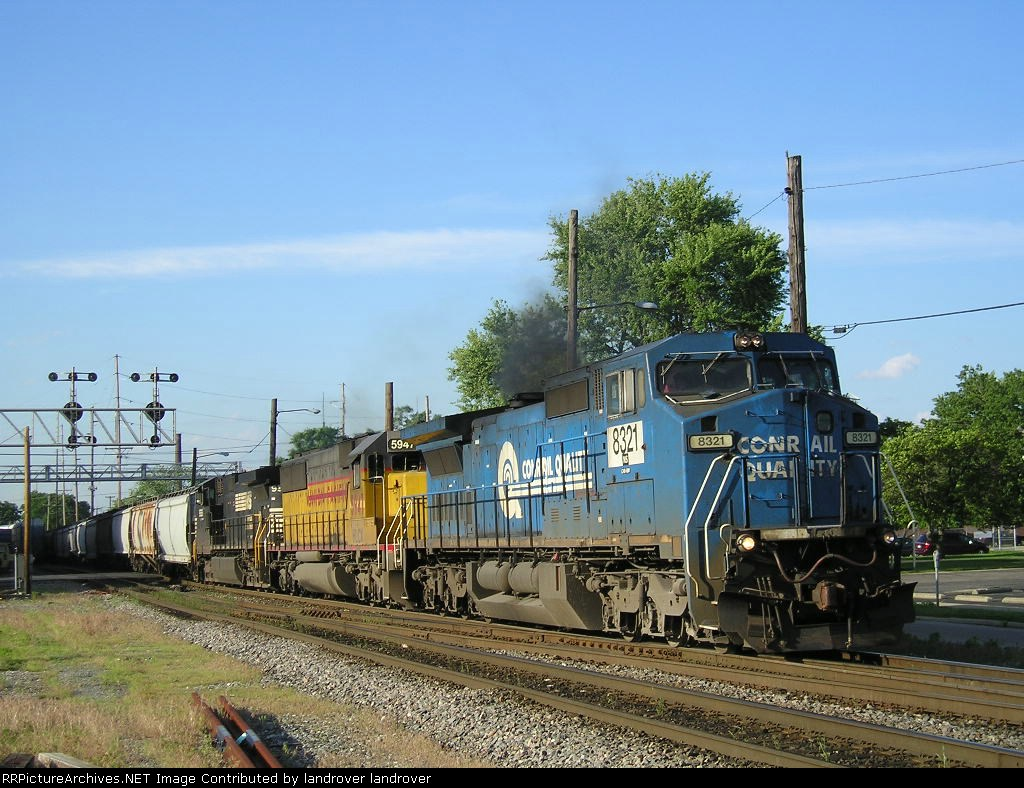 NS 8321 On NS 53 G Eastbound