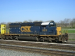 CSXT 8013 On CSX J 791 Working New River Yard
