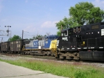 NS 9668 Meeting CSX Q 339 South On The Double