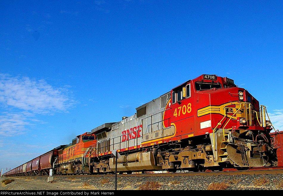 BNSF 4708 West