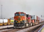 BNSF 1095 & 742 as the trailing DPUs on this stack train