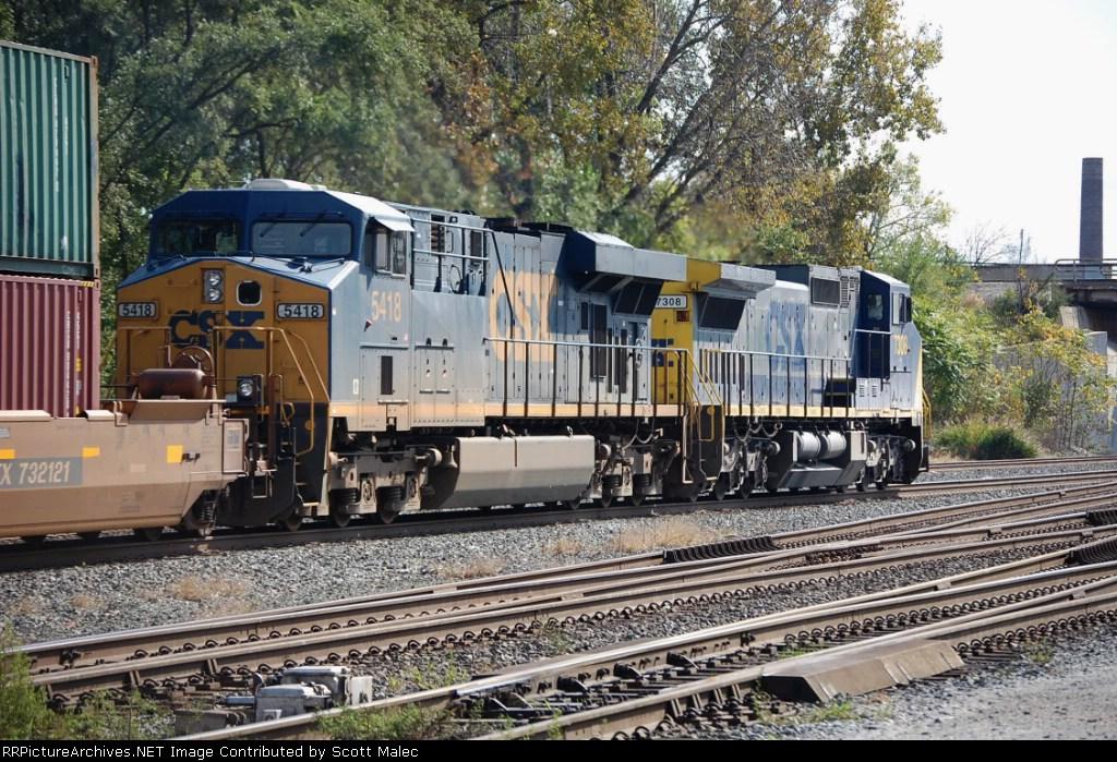 CSX 7308 & 5418