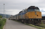 Via Rail Canada Passenger Train powered by EMD F40PH-2 No. 6436