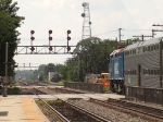 Metra and approaching BNSF