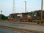 NS 9294 heads up train 153