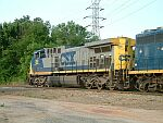 CSX 368 is big power for the local