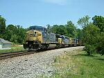 NB CSX Freight train