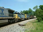 CSX 8106 on this NB freight