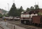 Locomotivas no patio
