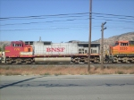 BNSF #770 behind the leading engine in Tehachapi