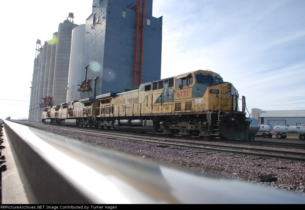 GE's idling in the siding
