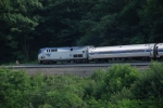 "Amtrak takes its turn around ""The Curve"""