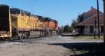 Q681 passes old passenger depot