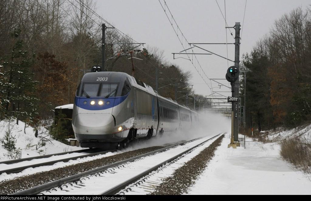 Acela Express Train 2163