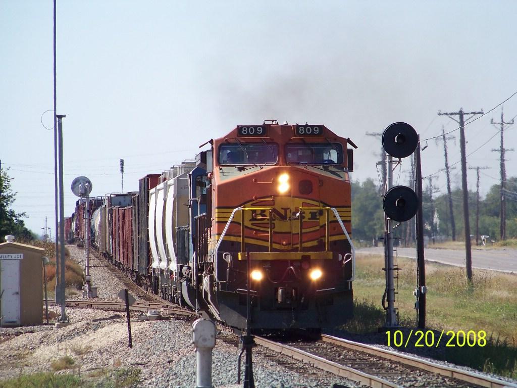 BNSF C40-8W 809