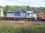 CSX 8023 gray/yellow nose