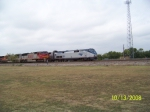 AMTRAK P42DC 194 & BNSF SD75M 8263