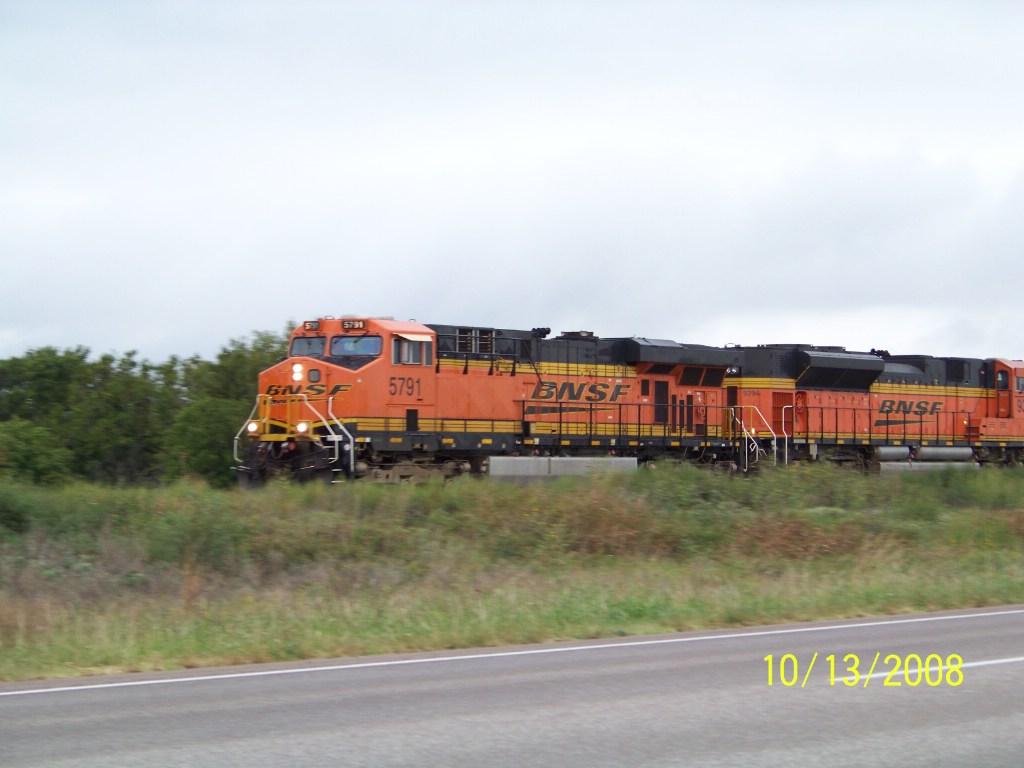 BNSF ES44AC 5791