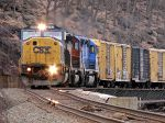 CSX 8753 And Lease Units