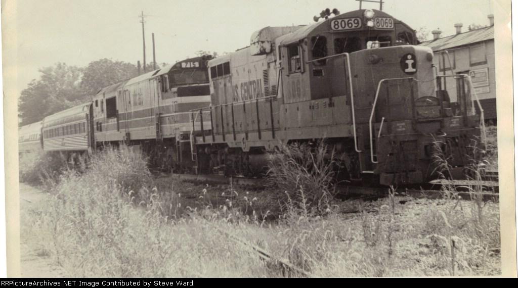 Amtrak southbound Panama Limited