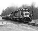 CSX Molten Sulfer Train