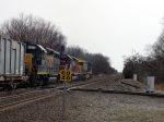CSX K277 Splitting the Diamond!