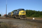 CSX 7353 rattles the diamonds