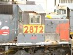 GECX SD40-T2 2872 / Export For Brazil
