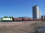 RE 807 Works the Cargill Elevator