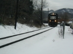 NS 6593 heads east through Coeburn, Va with loaded hopper train.