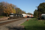 Eastbound NS stack train