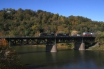 NS train 20V crossing the Beaver River