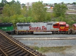 Santa Fe Sd70 #8207 on the B&OCT taken off the GT 59th st bridge