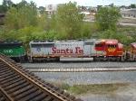 Santa Fe Sd70 #8207 on the B&OCT taken off the GT 59th st bridge