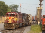 WC Gp40-2 #3024 on the SOO G44 job @ Hawthorne Yd